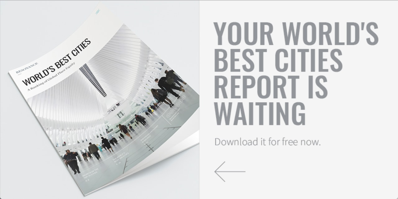 Get your free 2019 World's Best Cities Report