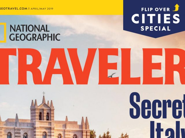 National Geographic partnered with Resonance for their April/May 2019 issue to surface the world's best food cities.